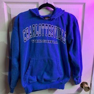 Charlottesville VA hoodie size S
